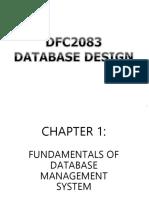 Database Design Chapter 1