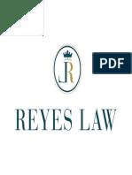 Reyes Law PDF