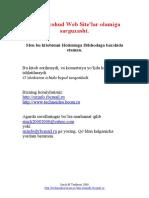 HTML Yohud Web Site