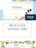 tel 212- exceptionality