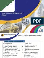 Modul 8_Penyusunan Dan Pelaksanaan Kontrak Konsultan SSKK FINAL