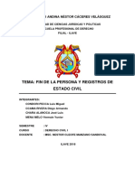 DERECHO CIVIL I (FIN DE LA PERSONA Y REGISTRO DE ESTADO CIVIL) 2018.docx