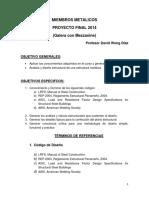 Terminos Del Proyecto