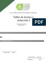 Taller de Lectura y Redaccion I