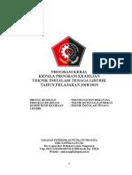 Program Kerja Kaprog Elektro 2018-2019
