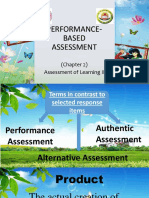 Assessmnt of Learning