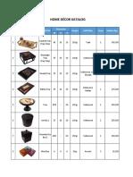 Katalog Home Decor