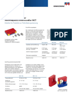 Bushing Adapters MCT Datasheet DEU
