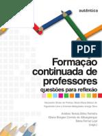FORMAÇÃO CONTINUADA DE PROFESSORES