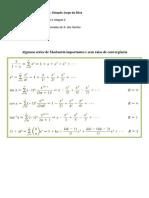 Algumas séries de Maclaurin importantes e seus raios de convergência.pdf