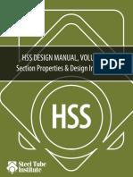 HSS DesignManual Volume 1