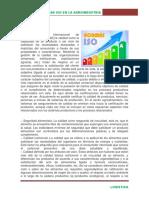 Normas ISO en la agroindustria
