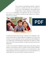 Las Habilidades Sociales Son Un Conjunto de Capacidades Que Permiten El Desarrollo