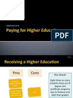 Paying for Higher Education PPT 2.3.5.G1
