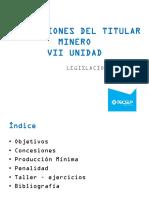 Legislacion Minera Unidad 07