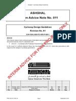 PWA IAN 011 Rev A1 - Cycleway Design Guidelines