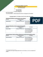 Calendarización segundo semestre alumnos nuevos 2015.docx