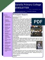 Newsletter #16 - 5th November 2018