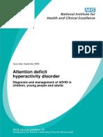 NICE guideline ADHD.pdf