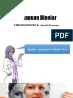 Mengenal Gangguan Bipolar