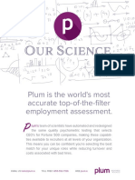 Plum Guide - Our Science
