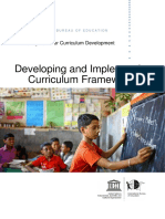 Developing and Implementing Curriculum Frameworks