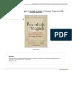 9781484890103 the Essentials of Magick a Complete Guide to Com eBook FBXDLYmGSh