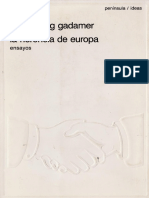 Gadamer Hans Georg - La Herencia de Europa Ensayos.pdf
