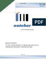 AutoBar Company Profile