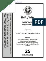 Soal to Un Sosiologi Sma Ips 2016 Kode a (25) Pak-Anang.blogspot.com