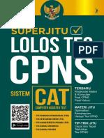 Superjitu Lolos Tes CPNS Sistem CAT