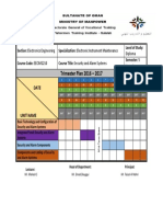 Trimester Plan Format