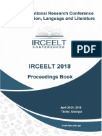 IRCEELT 2018 Proceedings