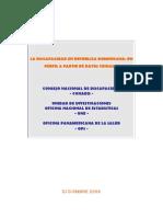Discapacidad en República Dominicana un Perfil a partir de Datos Censales