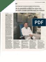 Entrevista DrSabater en La Razon