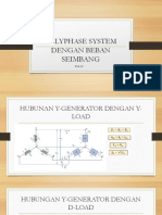 Polyphase System With Balance Load
