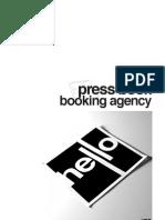 Hello Booking, djs & live acts - Presentation