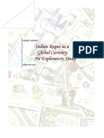 Analysis of Indian Rupee as a Global Currency