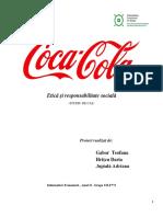Etică în afaceri COCA COLA