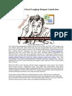 Rumus Microsoft Excel Lengkap