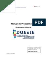 Manual de Procedimentos - SISE - Versão 1