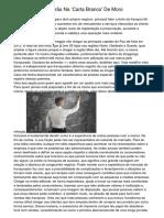 Bolsonaro Faz Borrão Na 'Carta Branco' De Moro