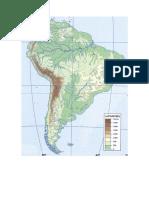 America Sur Fisico Mudo