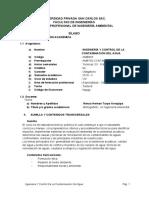 Ingeniería y Control de La Contaminación Del Agua 2018-II Tarde-b
