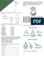 Exercícios de Matemática2