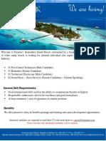 Job Advertisement 07112018