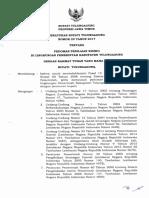 Perbup Nomor 29 Tahun 2017 Tentang Pedoman Penilaian Resiko Di Lingkungan Pemerintah Kabupaten Tulungagung