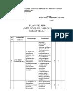 Planificare Orl.anul IIA