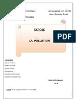 88791267 Expose Sur La Pollution