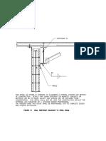 Detail Wall Restraint Adjacent to Steel Beam